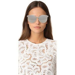 Karen walker star sailor sunglasses silver mirror